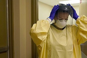 Think Health Care Workers Are Tested Often For The Coronavirus? Think Again
