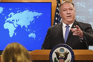 Pompeo's Legacy Of Partisanship And Wading Into Political Waters