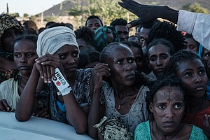 'I Have Lost Everything': Ethiopian Refugees Flee For Their Lives