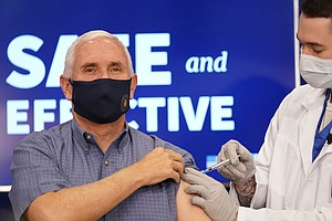 'I Didn't Feel A Thing:' Pence Gets COVID-19 Vaccine In Public Event