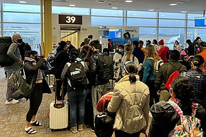 Millions Of People Flying Despite Public Health Pleas To Stay Put