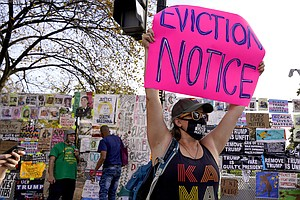 COVID-19 Relief Bill Could Stave Off Historic Wave Of Evictions
