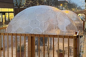 Yurts, Igloos And Pop-Up Domes: How Safe Is 'Outside' Restaurant Dining This ...