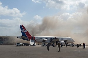 Deadly Explosion Rocks Yemeni Airport Just As New Government Members Land