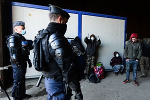 French Police Shut Down Rave Held In Defiance Of COVID-19 Restrictions
