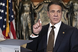 Gov. Cuomo Says N.Y. Is 4th State To Find A Variant Coronavirus Case