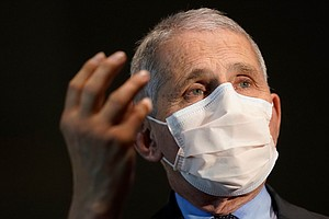 Fauci Says U.S. Needs More Time To 'Catch Up' On Vaccine Rollout