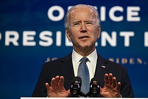 Biden Says Capitol Attack Was 'Culmination' Of Trump's Assaults On Democracy
