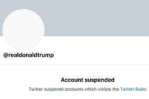 Twitter Permanently Suspends Trump, Citing 'Risk Of Further Incitement Of Vio...