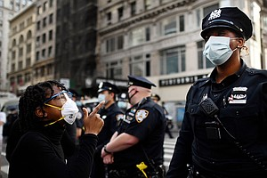 New York State Sues NYPD Over Its Handling Of 2020 Racial Justice Protests