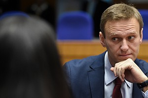 Kremlin Critic Alexei Navalny Detained After Returning To Russia Following Po...