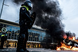 Angered By New Coronavirus Restrictions, Protesters In Netherlands Clash With...