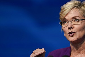 Energy Nominee Jennifer Granholm Stresses Climate Action And Jobs