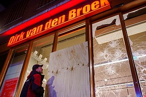 Anti-Curfew Protests Flare Up In The Netherlands
