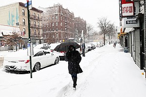 Winter Storm Blankets Northeast U.S., Halting Travel And Vaccine Appointments