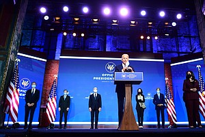 In 1st Foreign Policy Address, Biden Looks To Move Beyond Trump's 'America Fi...