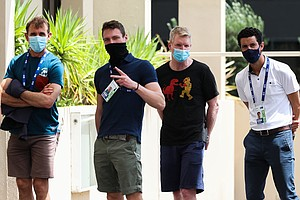 Australian Open Players Quarantining After Tournament Worker Tests Positive F...