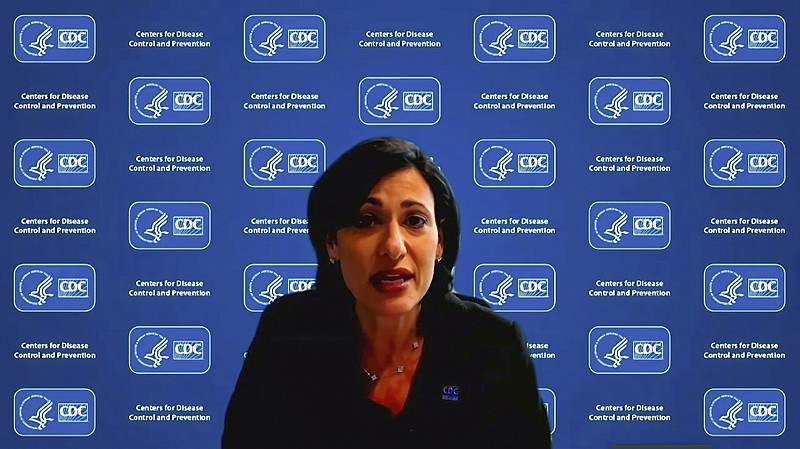 Dr. Rochelle Walensky, director of the Centers for Disease Control and Preven...