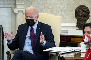 Biden, Democrats Prepare To Go It Alone, Believing Most Of Country Is On Thei...
