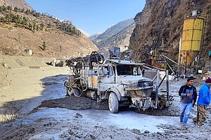 Scores Are Feared Dead In India After Himalayan Glacier Breaks Away