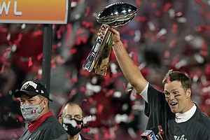 Tom Brady Leads Tampa Bay Buccaneers To Super Bowl Win Over Kansas City Chief...