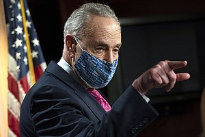 Schumer Faces Pressure From The Left To Deliver As Majority Leader