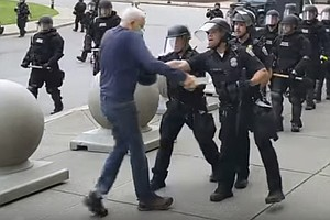 Grand Jury Clears Buffalo N.Y., Police Accused Of Assaulting Elderly Protester