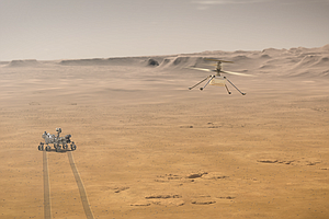 After Tricky Landing, New Mars Rover To Scour Ancient Lake Bed For Life Signs