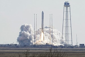 Spacecraft Named For 'Hidden Figures' Mathematician Launches From Virginia