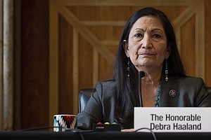 Interior Nominee Deb Haaland Faces Tough Questions On Climate Goals