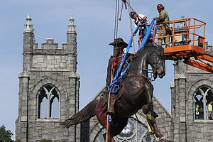 Nearly 100 Confederate Monuments Removed In 2020, Report Says; More Than 700 ...