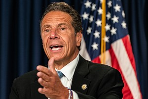 N.Y. Gov. Cuomo Accused Of Sexual Harassment By Former Adviser In His Adminis...