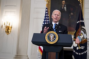 Biden Says U.S. Will Have Vaccine Supply For All Adults By May, Prioritizes T...