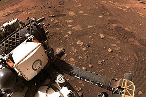 In First Test Drive On Mars, Perseverance Rover Makes A Short But Significant...