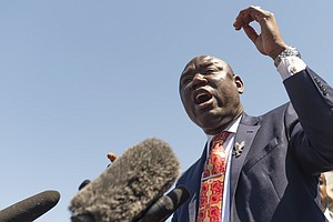 George Floyd Family Lawyer Ben Crump: Trial Is A Chance For Justice