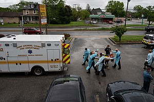 Hospital Emergency Rooms Struggle With Overdose Spike During Pandemic