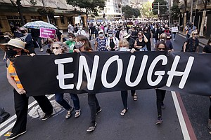 Thousands March In Australia As Another #MeToo Wave Hits The Country