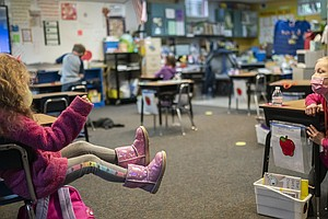 CDC Looks At Whether 3 Feet — Instead Of 6 — Is Safe For Schools' Social Dist...