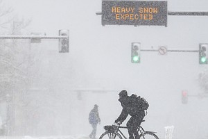 Winter Storm Slams The West With Heavy Snow, Strong Winds