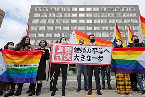 In Landmark Ruling, Court Says Japan's Ban On Same-Sex Marriage Is Unconstitu...