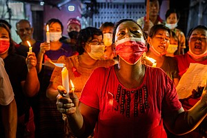 'Spirit To Fight': Inside The Labor, Minority Rights Roots Of Myanmar's Protests