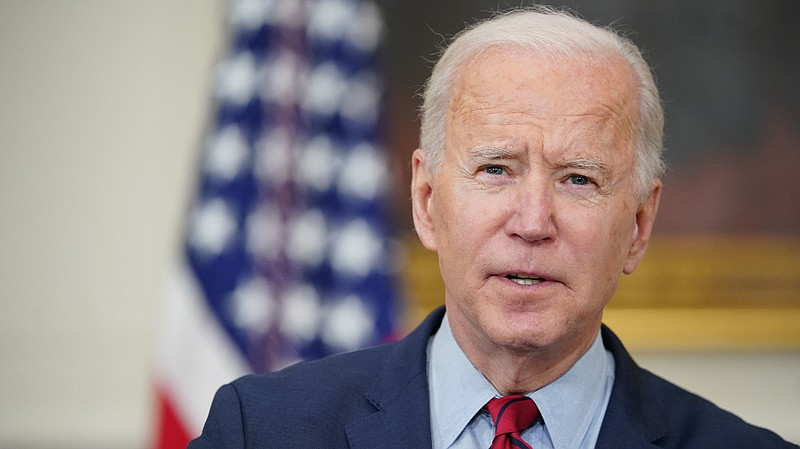 President Biden speaks about the Colorado shootings in the State Dining Room ...