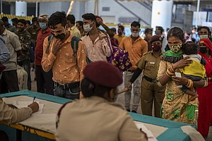 India Sees Spike In Confirmed Coronavirus Cases — And Variants