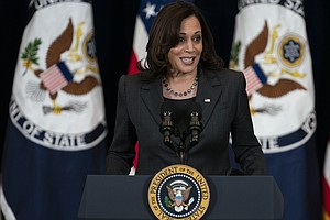 Photo for Can You Handle The Truth?: Fact-Checking Vice President Kamala Harris' Claim ...