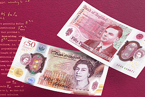 New U.K. Currency Honors Alan Turing, Pioneering Computer Scientist And Code-...