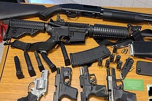 Man With 6 Firearms Arrested At Grocery Store Following Tip From 'Startled' S...