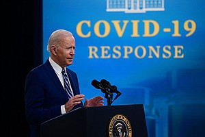NPR/Marist Poll: Biden Gets High Marks On COVID-19. It's Not The Case On Immi...
