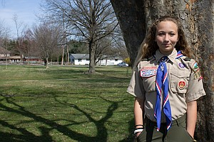 'She Just Wanted It': One Girl's Journey To Becoming An Eagle Scout