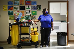 Cleaning A College In A Pandemic: 'Without Us This Campus Shuts Down'