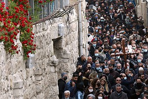 Jerusalem's Old City Comes Alive With Religious Festivals As Vaccination Rate...